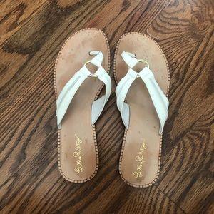 Size 8 Lilly Pulitzer McKim Sandals
